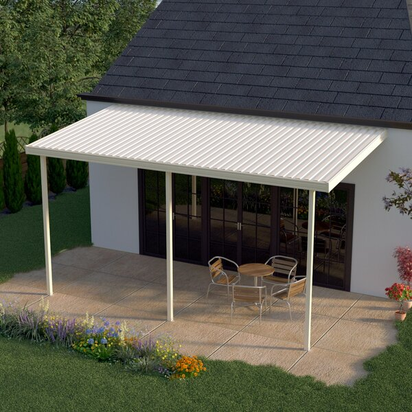14 ft. W x 12 ft. D Patio Awning by Heritage Patios