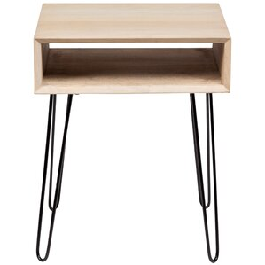 Bruce End Table by Union Rustic