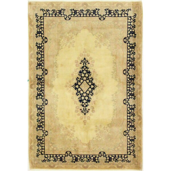 One-of-a-Kind Stubbeman Hand-Woven Wool Beige Area Rug by Astoria Grand