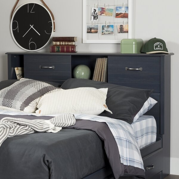 Ulysses Full Bookcase Headboard by South Shore