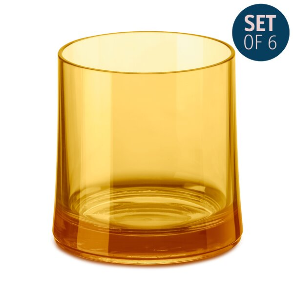 Dolliver 8 oz. Glass Cocktail Glasses (Set of 6) by Ivy Bronx