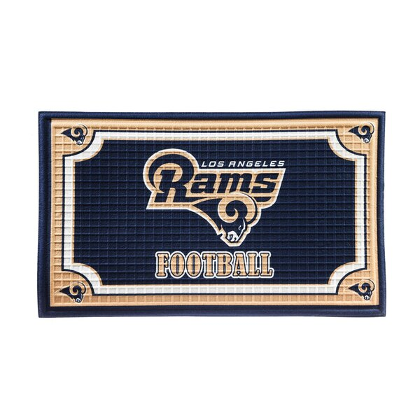 NFL Embossed Doormat by Evergreen Enterprises, Inc