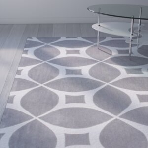 Kane Hand-Tufted Gray Area Rug