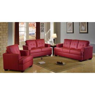 Hitton 3 Piece Living Room Set by Winston Porter