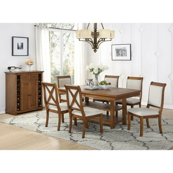 Fabien 7 Piece Dining Set By Gracie Oaks Spacial Price