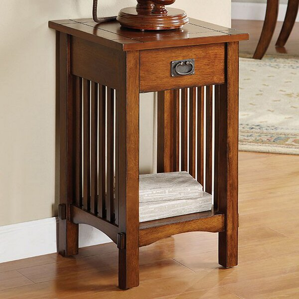 Dominguez End Table by Millwood Pines