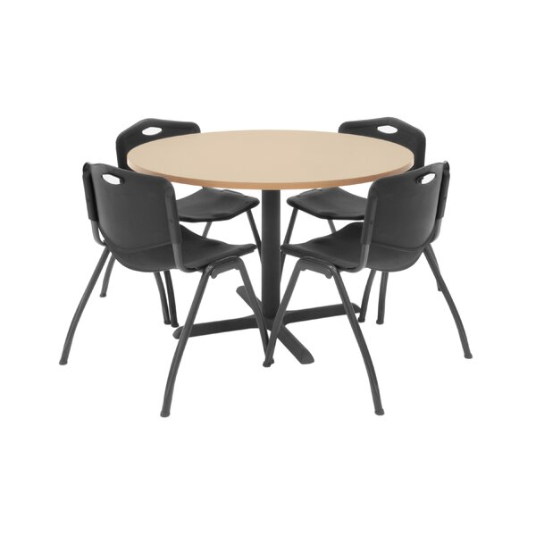 Hospitality Round Table with Chairs by Regency