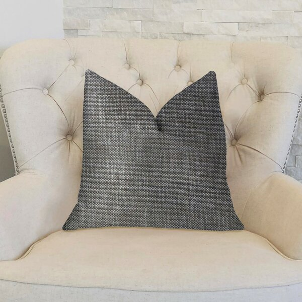 Leger Luxury Throw Pillow by 17 Stories