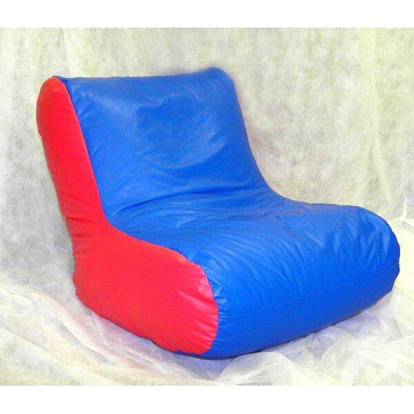 Kidz Rule Bean Bag Lounger by Rush Furniture