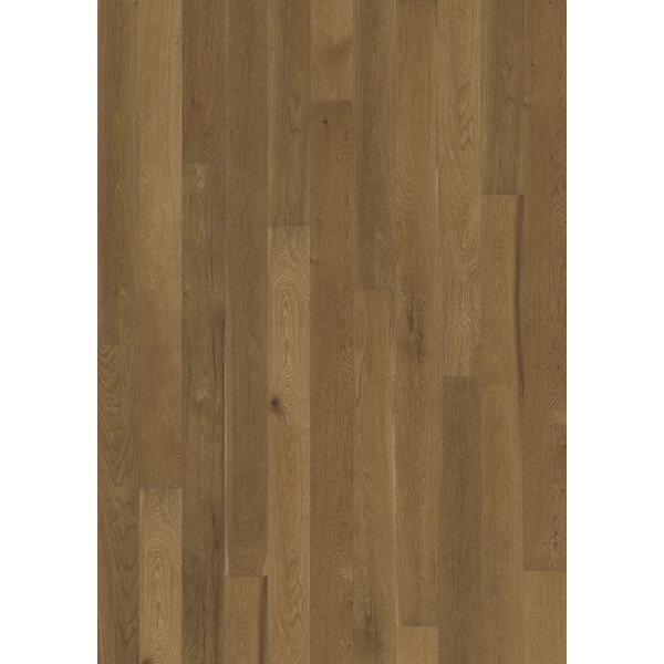 Canvas 5 Engineered Oak Hardwood Flooring in Tweed by Kahrs