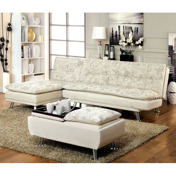 Hauser Sleeper 3 Piece Living Room Set by A&J Homes Studio