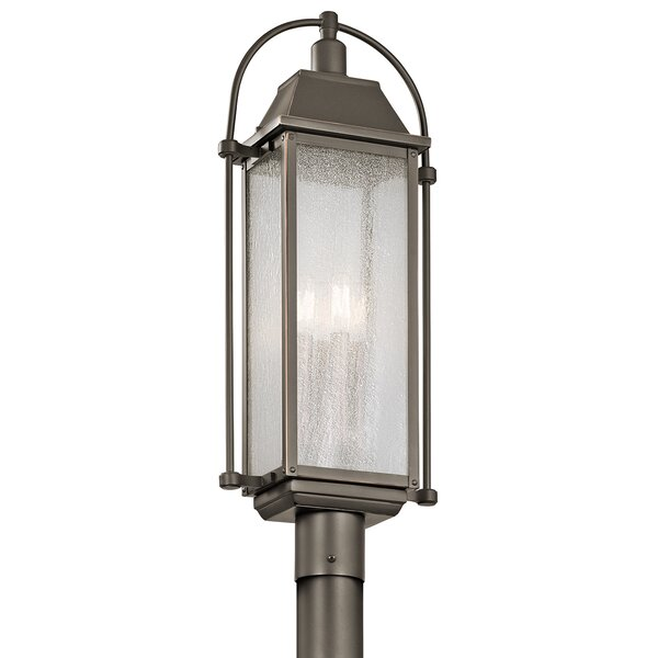 Devils Lake Outdoor 4-Light Lantern Head by August Grove