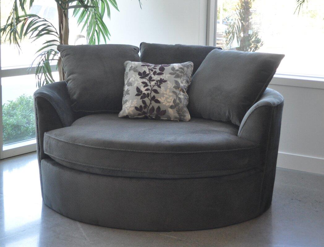 Light pink accent chair 187 home design 2017 - Roquefort Cuddler Barrel Chair
