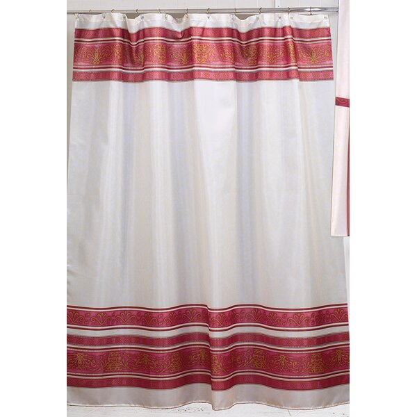 Fleur Shower Curtain by Carnation Home Fashions