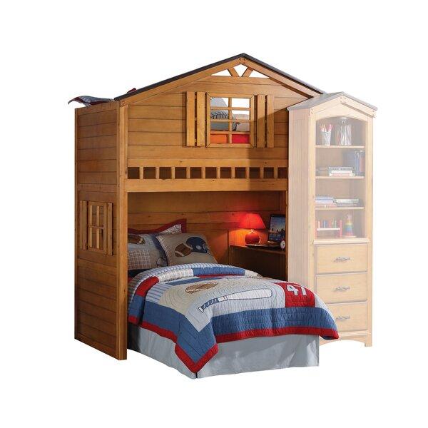 Mila Twin Loft Bed by Zoomie Kids