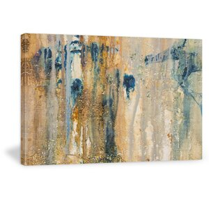 'Sand Wrought' Graphic Art Print on Wrapped Canvas by My Art Outlet