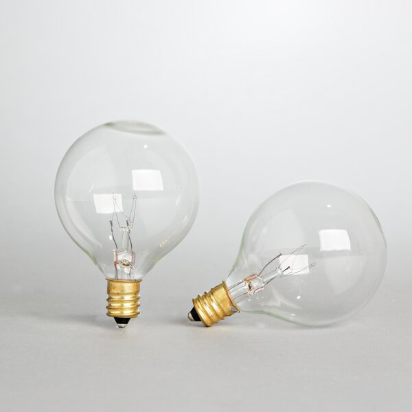 5 Watt Incandescent Light Bulb Pack of 2 by The Gerson Companies