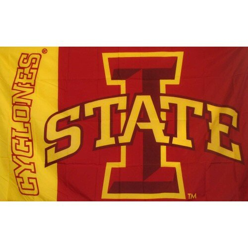 Iowa State Cyclones Polyester 3 x 5 ft. Flag by NeoPlex