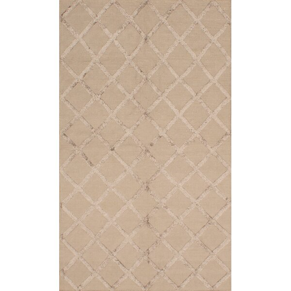 Bonefield Silk Dark Khaki Area Rug by Rosdorf Park