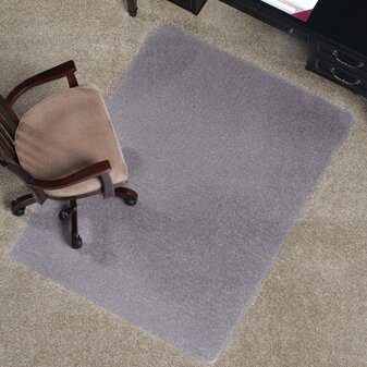 Anchormat Medium Pile Carpet Beveled Edge Chair Mat by ES Robbins Corporation