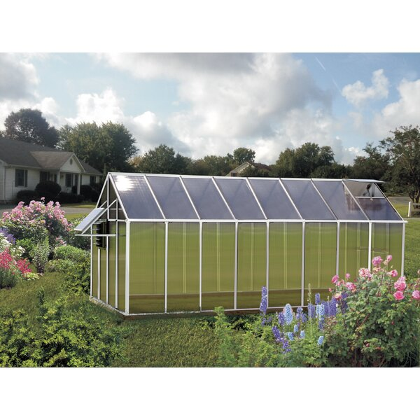 Monticello Mojave 8.1 Ft. W x 16.3 Ft. D Greenhouse by Riverstone Industries