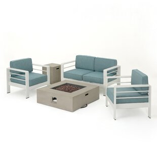 Villegas 5 Piece Sofa Set with Cushions By Orren Ellis