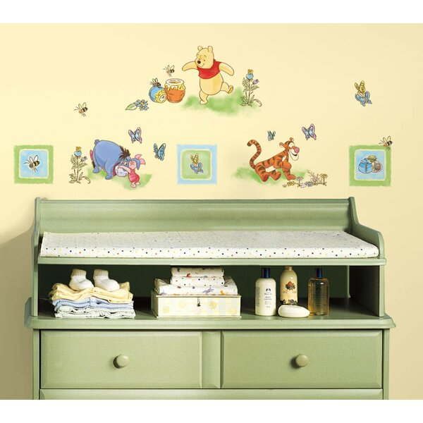 Disney Winnie the Pooh Cutout Wall Decal by Wallhogs