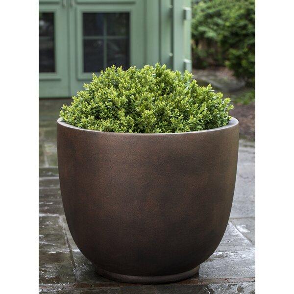 Meola Fiberglass Pot Planter by 17 Stories