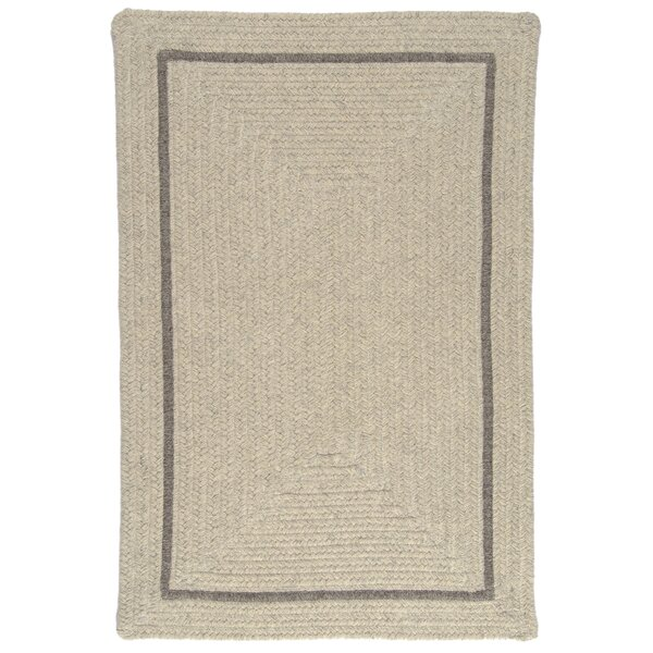 Shear Natural Cobblestone Area Rug by Colonial Mills