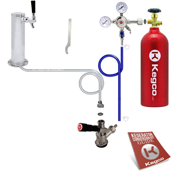 Single Tap Kegerator Conversion Kit by Kegco