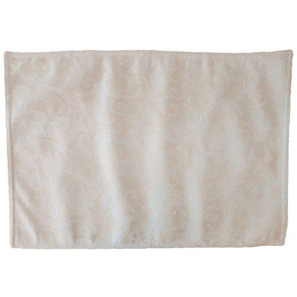 Lined Jacquard Placemat (Set of 6) by Textiles Plus Inc.