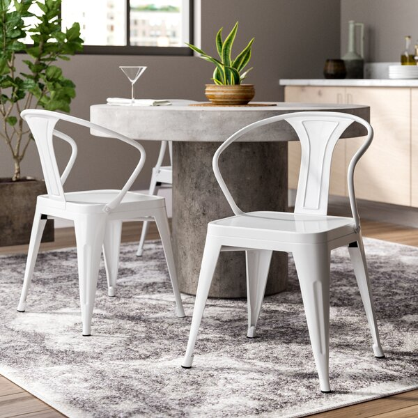 Katia Industrial Dining Chair (Set of 2) by Trent Austin Design