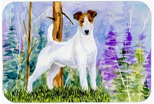 Jack Russell Terrier Kitchen/Bath Mat by Caroline's Treasures