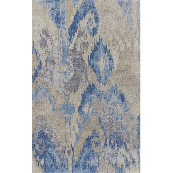 Stillmore Blue/Gray Area Rug by Bungalow Rose