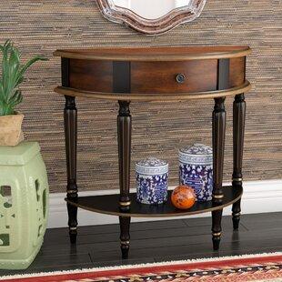 Bargain Dorine Demilune Console Table ByWorld Menagerie