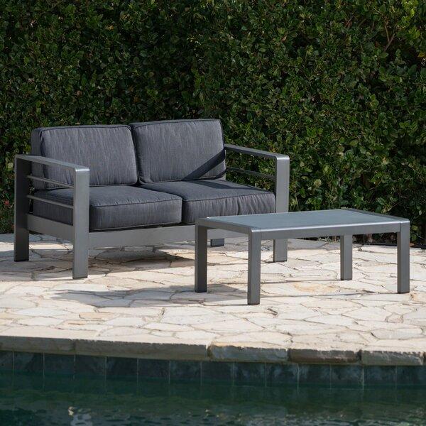 Royalston 2 Piece Sofa Set with Cushions by Brayden Studio