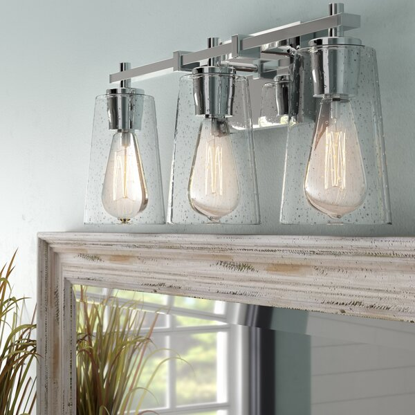 Muniz 3-Light Vanity Light by Beachcrest Home