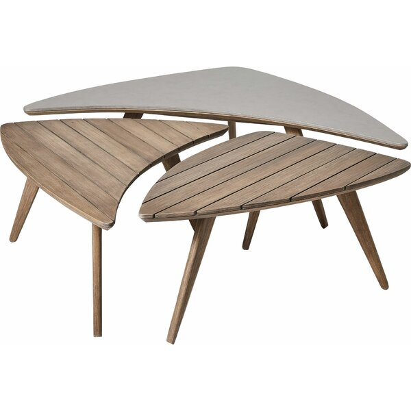 Christen Wooden Side Table by Corrigan Studio