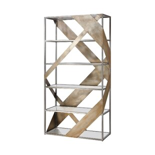 Sikeston Etagere Bookcase