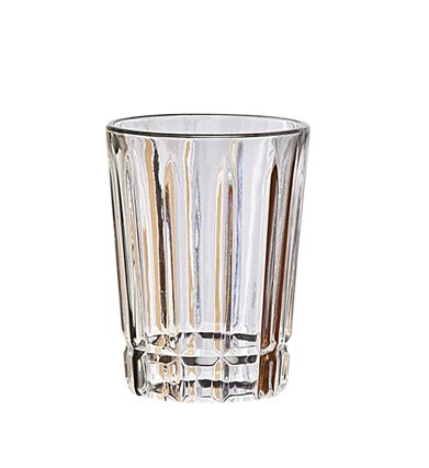 Quadro 10 oz. Crystal Highball Glass (Set of 6) by Studio Silversmiths