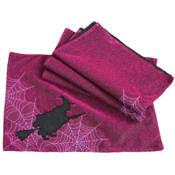 Witching Hour Halloween Placemat (Set of 4) by Xia Home Fashions
