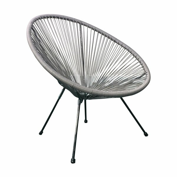 Westberg Woven Basket Patio Chair (Set of 3) by Bungalow Rose