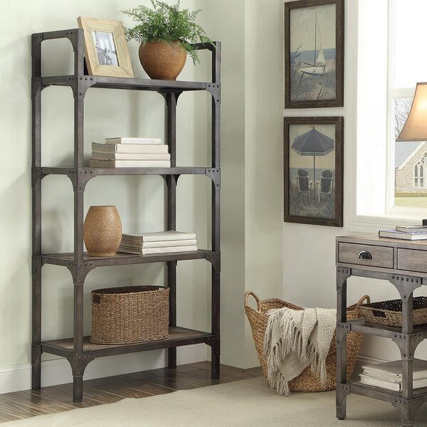 Killeen Etagere Bookcase by Greyleigh