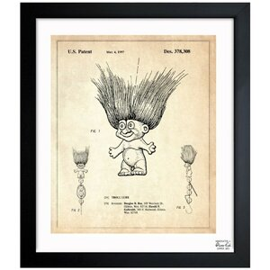 Toy Troll Lure 1996 Framed Graphic Art by Oliver Gal