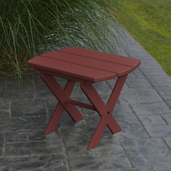 Anika Folding Wooden Side Table by Millwood Pines