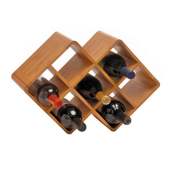 Greenophile 8 Bottle Tabletop Wine Rack By Oenophilia