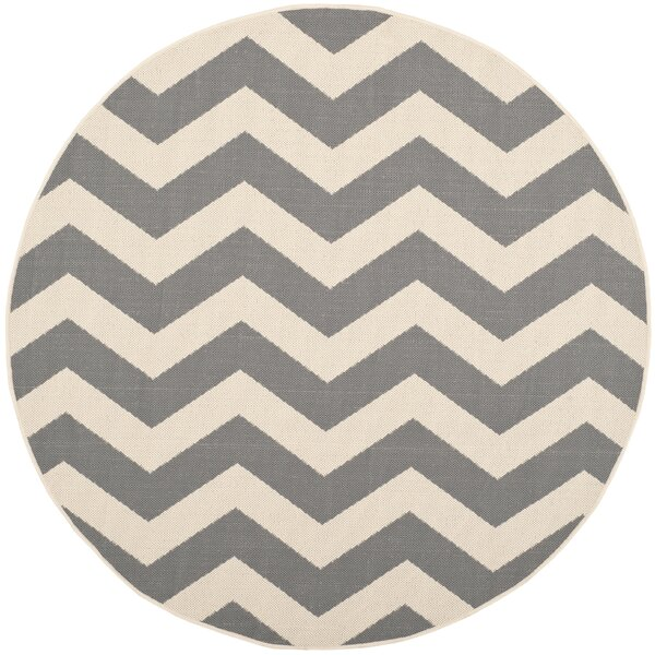 Mullen Gray/Beige Indoor/Outdoor Area Rug