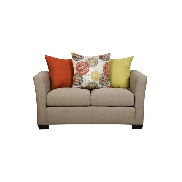 Simmons Upholstery Roulston Loveseat by Red Barrel Studio