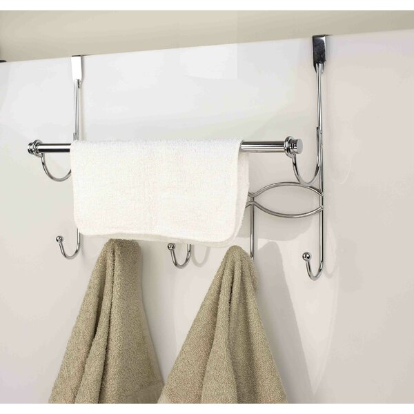 Hook Over-the-Door Towel Bar by Home Basics
