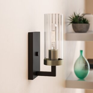 Read Reviews Karns 1-Light Bath Sconce By Brayden Studio
